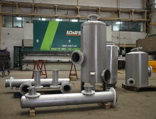 Fabricación de Depósitos en Acero y Aluminio