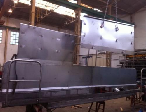 Fabricación de Pasarelas y Barandillas en Acero y Aluminio